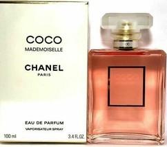 Coco Mademoiselle Edp Spray 3.4 Oz / 100ml Chanel Eau De Parfum Fragrance Sealed - $125.12