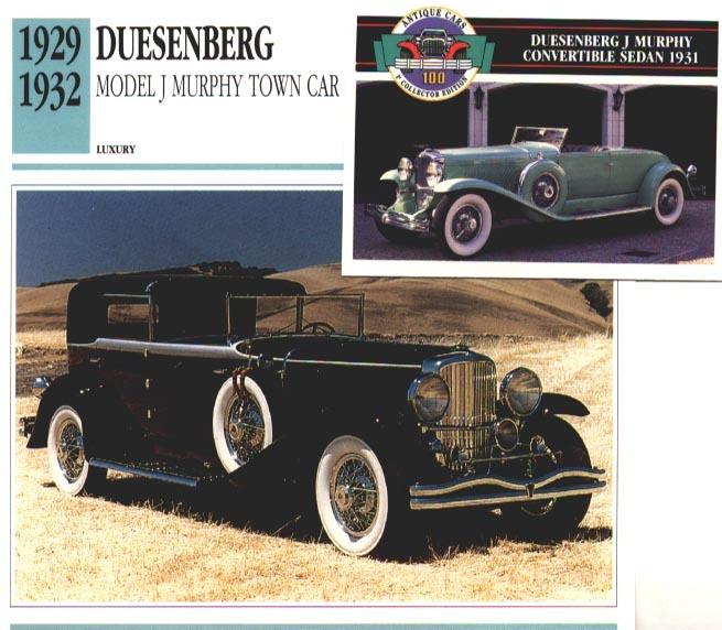 1929 1932 duesen j murp 2 blk grn