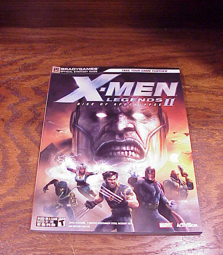 X-Men Legends II Rise of Apocalypse Strategy Guide Book