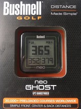 NEW Bushnell Golf Neo Ghost GPS / RangeFinder Unit Black - $91.81