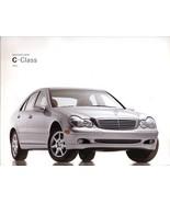 2003 Mercedes-Benz C-CLASS brochure catalog 1st edition C 240 320 C32 AMG - $8.00
