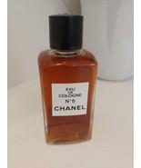Chanel N°5 Eau de Cologne 4oz (120cc) Vintage Splash *New* - $139.84