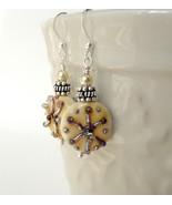 Handmade ocean themed earrings.  - $33.00
