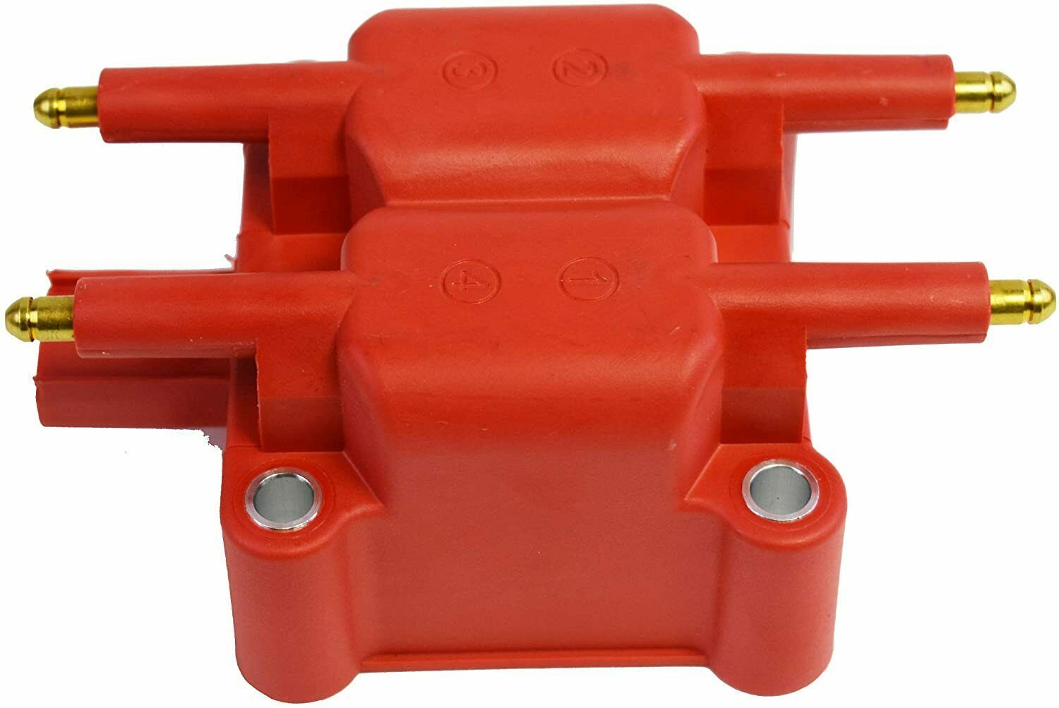 40K Volts High Output Ignition Coil For Mini Cooper, Dodge, Chrysler, Pack Red