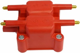 40K Volts High Output Ignition Coil For Mini Cooper, Dodge, Chrysler, Pack Red image 1