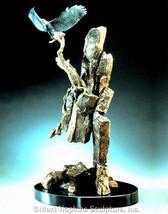 "Mark Hopkins Bronze "" Eagles Ledge"" ltd edition 250 - $1,850.00"