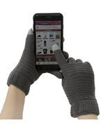 Women Men Winter Touchscreen Texting Gloves Warm Thick Wool Knitted Mitt... - £10.80 GBP
