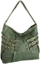 Treesje's Dylan Hobo In Green New With Tags Retail $595 - $149.00