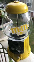 "RARE VIntage  M&M's World LAS VEGAS CANDY VENDING MACHINE 11"" TALL Metal... - $79.20"