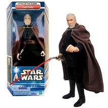 SW Star Wars Year 2002 Attack of the Clones Series 12 Inch Tall Fully Po... - $79.99