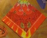 Tye dye paisley printed bandana 1 thumb155 crop