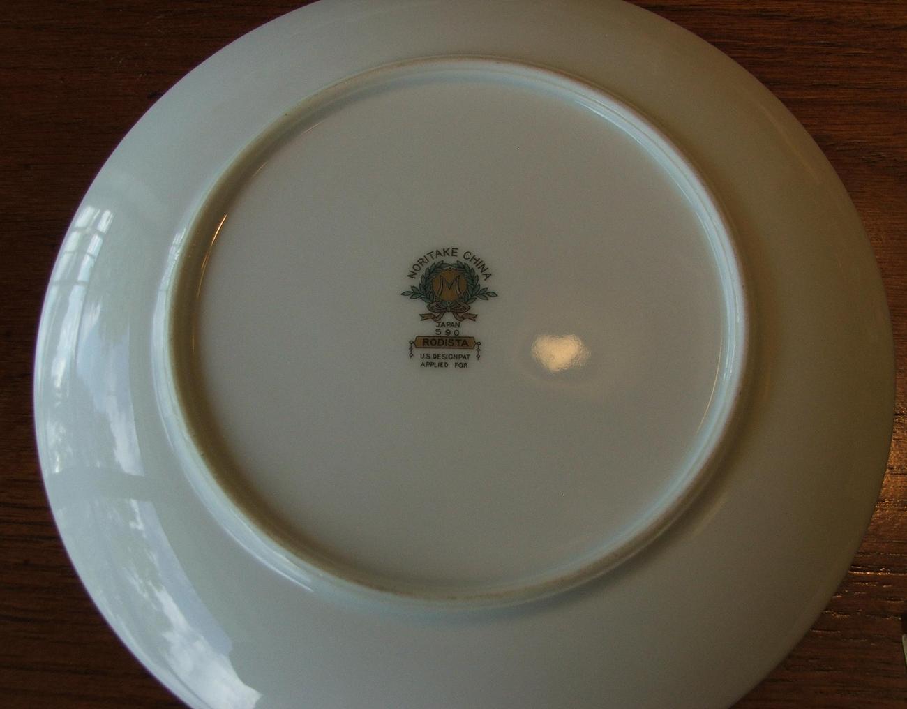 Noritake China Rodista Salad Plate
