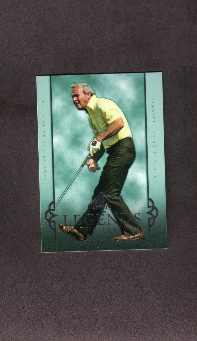 2005 SP Authentic Golf # 24 Arnold Palmer
