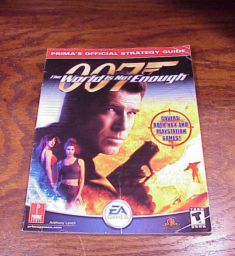 007 The World Is Not Enough Prima Strategy Guide Book for Nintendo 64, N64