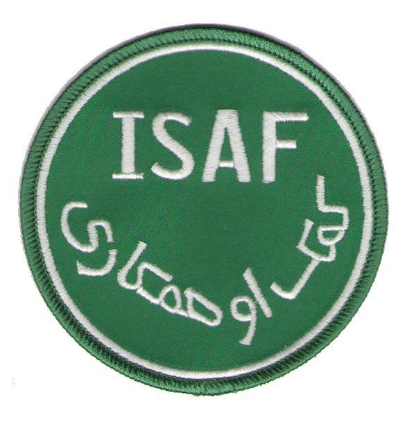 Primary image for ISAF GREEN WHITE ENDURING FREEDOM AFGHANISTAN PATCH