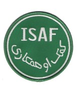 ISAF GREEN WHITE ENDURING FREEDOM AFGHANISTAN PATCH - $23.74