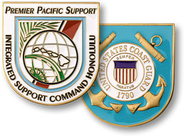United States Coast Guard USCG  Integrated Support Command Honolu Challenge Coin - $9.89