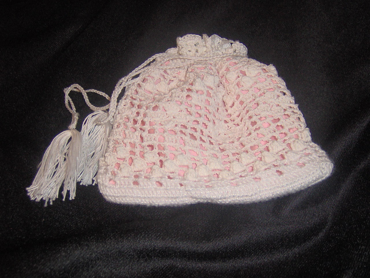 Primary image for Crochet lace wedding purse