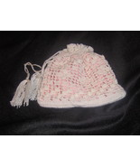 Crochet lace wedding purse - $17.00