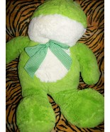 """Best Made Toys Plush Green Lovey 18"""" Frog Doll Toy - $3.18"""