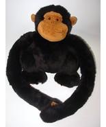 Animal Alley Plush Hanging Monkeys Black Brown ... - $15.98