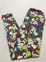 NEW Lularoe OS One Size Ghost Candy Halloween Leggings Trick Or Treat - $24.99