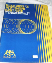 Musical Studies for Intermediate Mallet Player - Whaley - $5.50