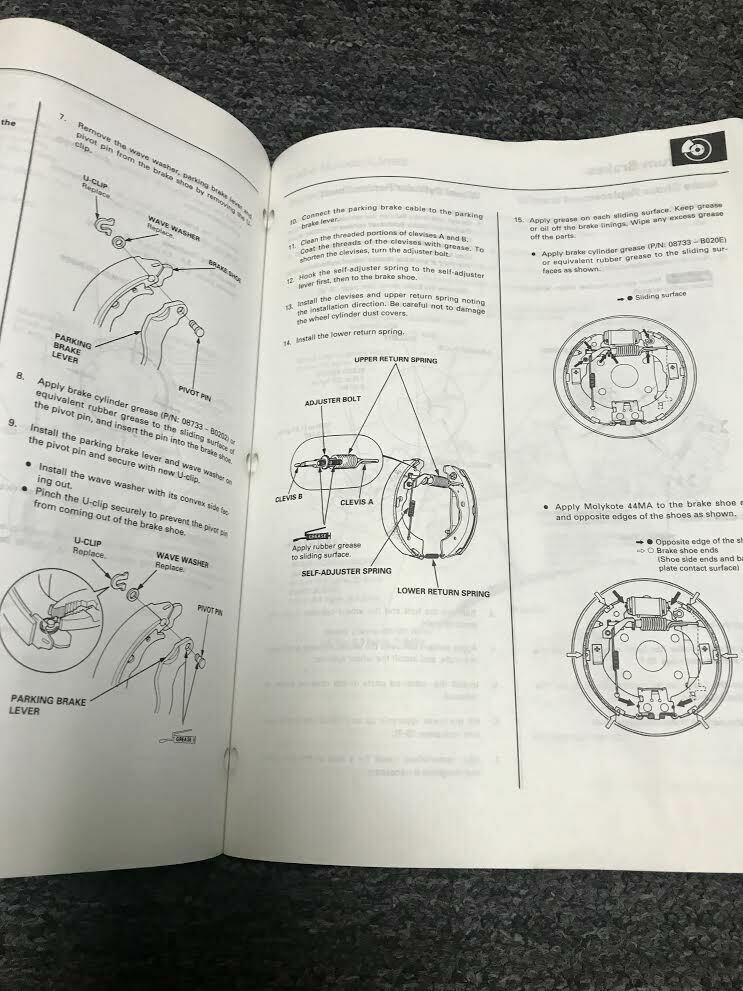 1997 1998 1999 Honda CR-V CRV Service Shop Repair Manual Set W EWD Worn OEM