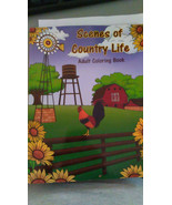 Scenes of Country Life Adult Coloring Book - $10.94
