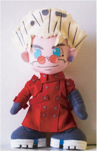 Trigun: Vash 6 Inch Tall Plush NEW!
