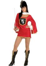 Sexy Renaissance Three Musketeer Renaissance Size 2-6 Halloween Costume - $24.99