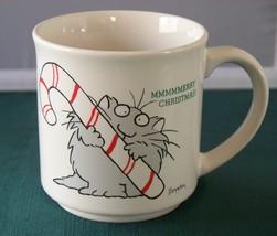 Boynton MMMMMerry Christmas Cat 12 Oz Mug VGC - $12.50