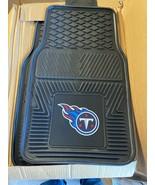 NFL Tennessee Titans Car Truck 2 Front Heavy Duty Rubber Vinyl Floor Mats - $29.69