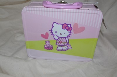 Sanrio HELLO Kitty Mini Lunch Box Metal NEW