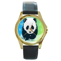ADORABLE BABY PANDA GOLD TONE WATCH 9 OTHER STYLES NEW! - $23.99