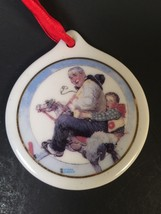 J C Penney Exclusive 1997 Norman Rockwell Gramps at the Reins Ornament n... - $7.69