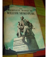 The Complete Works of William Shakespeare by William Shakes - $99.50