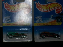 Hot Wheels Street Eaters Series Car Complete Set Of 4 - $37.00