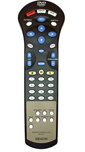 Denon DVD Remote Control RC-546 Supplied with models: DVD-2800 DVD-2800MK.II