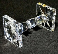 "1 (One) WATERFORD KNIFE REST LARGE Cut Lead Crystal 3 5/8"" - Signed w Go... - $37.99"