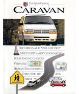 1995 Dodge GRAND CARAVAN sales brochure catalog US 95 - $6.00