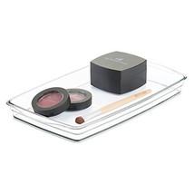 mDesign Modern Storage Organizer Tray for Bathroom Vanity Countertops, C... - $12.17