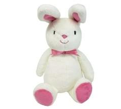 Carter's 92637 Blanc Bunny Rabbit Rose Oreilles Pieds & Nœud Peluche Animal - $55.31