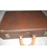 Briefcase Vintage Allegator - $38.00