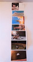 Vintage 1970's Kennedy space center Florida fold out 14 picture packet - $9.79