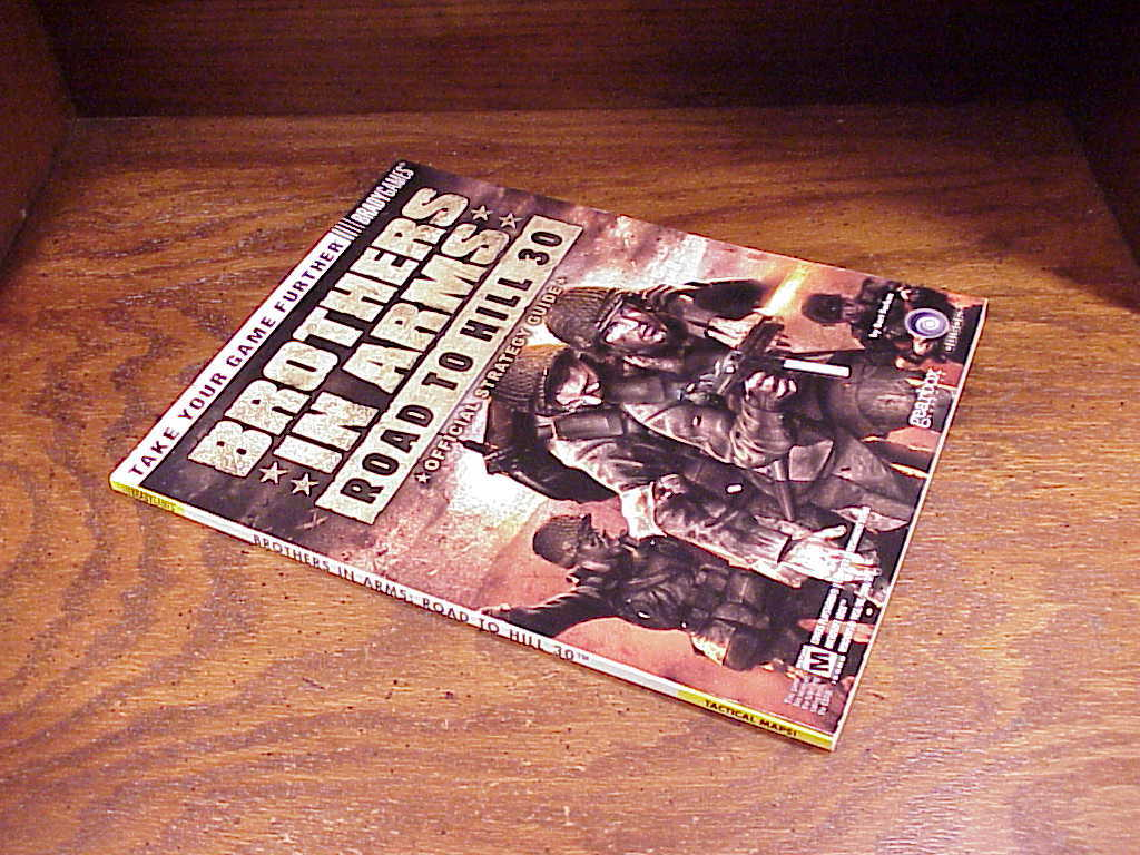Brothers in Arms Road to Hill 30 Game Strategy Guide Book