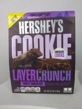 Hershey's cookie layer crunch triple chocolate 9 wrapped bars - $10.85