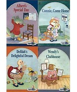 4)ALPHAPETS:ALBERT,CONNIE,DELILAH,WENDY-Ruth Lerner Perle;Like New;Free ... - $24.99