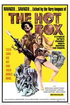 Margaret Markov and Andrea Cagan in The Hot Box Exploitation Artwork Girls Guns  - $23.99