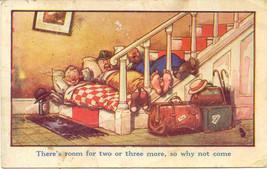 Room For More artist Douglas Tempest Vintage Post Card - $6.00